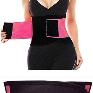 Other - Waist Trainer Belt Pink